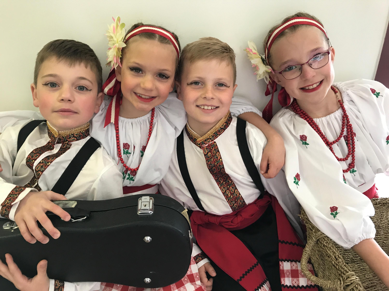 Kachke Instrument Dancers